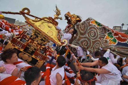 お祭り(写真1)